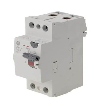 Interruptor Diferencial 2x25a 30ma Bdc225/030 Ge
