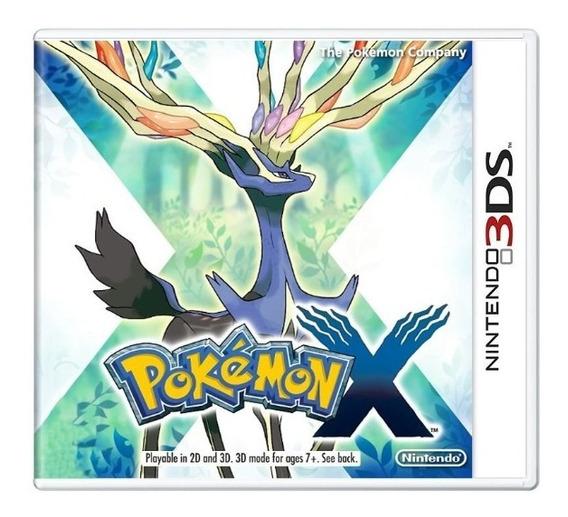 Pokémon X 3ds Mídia Física Usado Frete Grátis