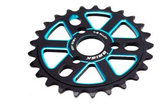 Plato 25t Aluminio Brisk Color Negro Y Azul