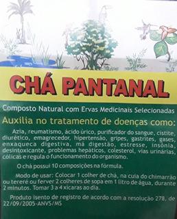Pacote 3 Chás Do Pantanal