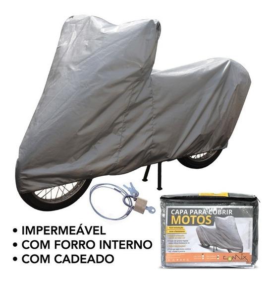 Capa Impermeável Moto C/ Cadeado Kasinski Comet Gtr 250 Cm2c