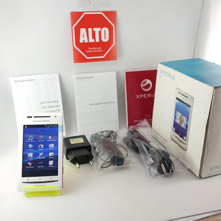 Celular Sony Xperia X8 Não Roda Zap Vitrine