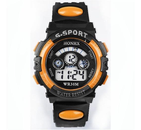 Relógio Infantil Honhx Resistente