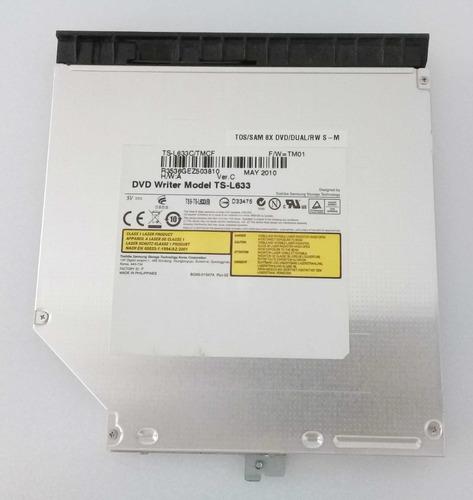 Imagem 1 de 2 de Gravador Dvd Notebook Positivo Sim+  Model Ts-l633