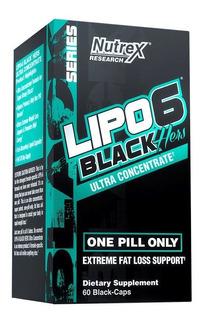 Lipo 6 Black Uc Hers - Americano, Quemador Creado Para Mujer