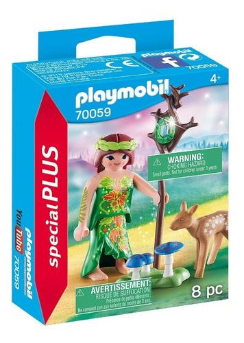 Imagen 1 de 4 de Playmobil Hada Con Ciervo 70059 Special Plus Ink Edu Full