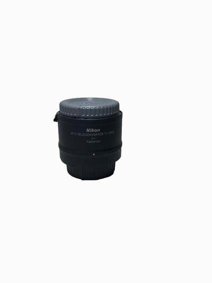 Nikon Af-s Tele Converter Tc-20eiii 2x S/novo Conservado