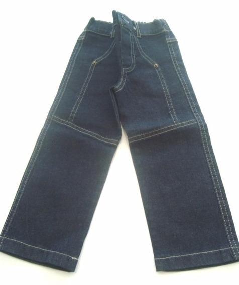 Calça Jeans Infantil Azul Escuro Pinoti