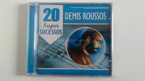 Cd Demis Roussos - 20 Super Sucessos - Novo Lacrado Original