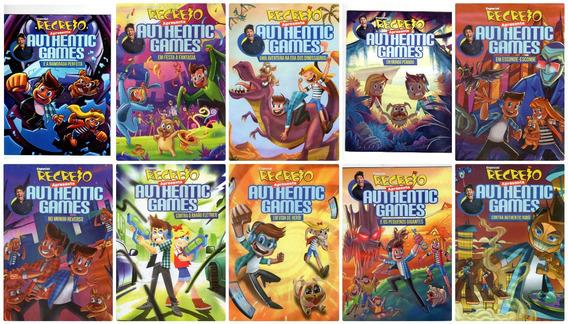 Kit 10 Revistas Recreio Authentic Games Marco Túlio