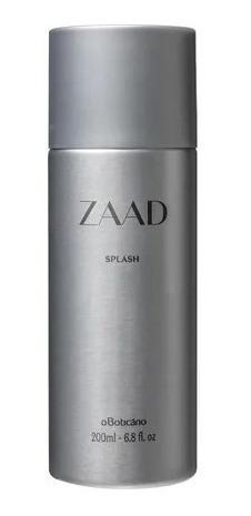 Zaad Splash Desodorante Côlonia, 200ml Boticário