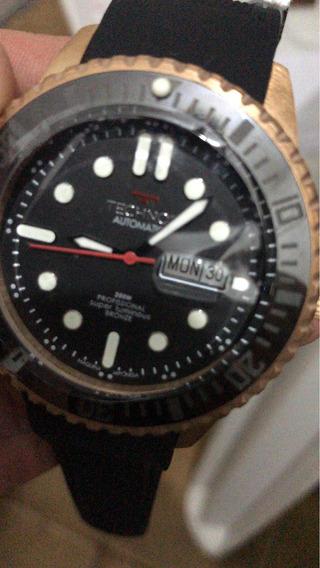 Relógio Technos Ed. Limitada Bronze Resistente 200 Metros