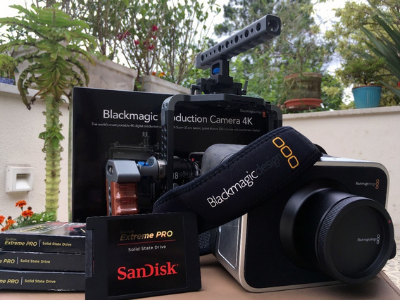 Blackmagic Design Production Camera 4k + Acessórios