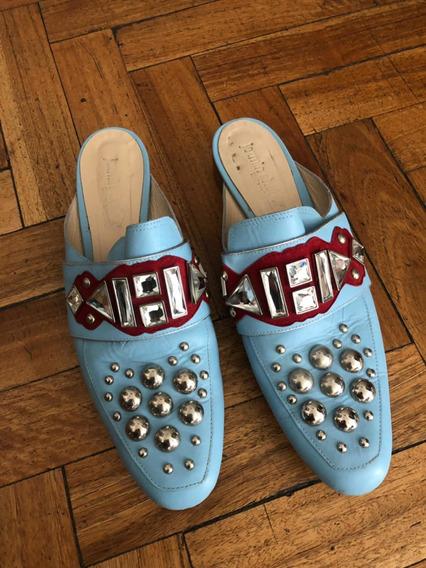 Mules Zapatos Jazmín Chebar Muy Ginebra Cher