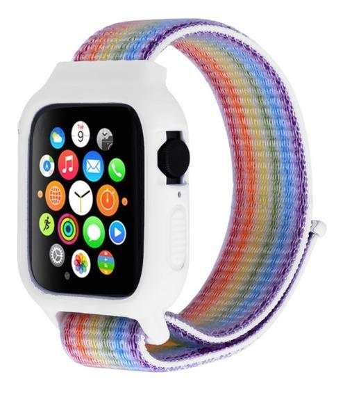 Correa Case Protector Extensible Nylon Para Apple Watch