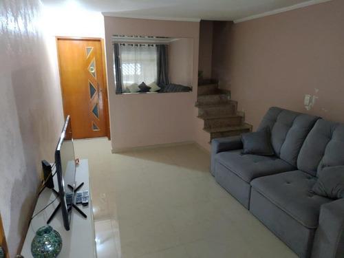 Imagem 1 de 30 de Sobrado Com 2 Dormitórios À Venda, 140 M²  - Vila Euclides - São Bernardo Do Campo/sp - So20040