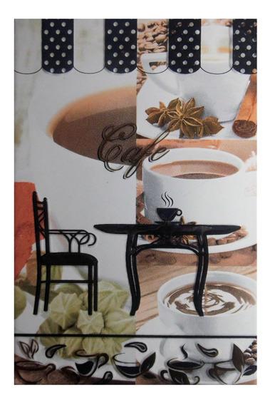 Té Café Azulejo Decorado Para Cocina 20x30cm Primera