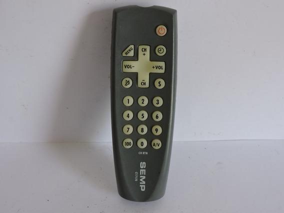 Controle Remoto Semp Ct7170 Usado