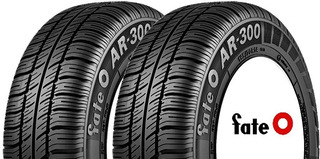 Kit X 2 Neumaticos Fate Ar 300 155/80 R13 79t Full