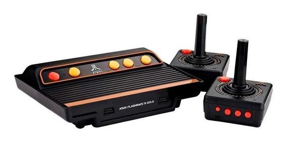 Console AtGames Atari Flashback 9 Gold preto