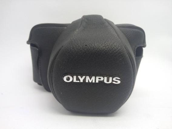 Capa De Couro Camera Olympus Om-1