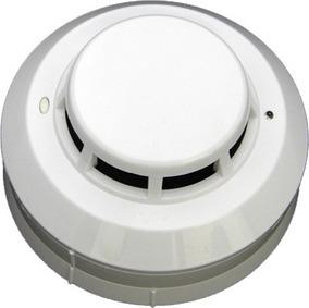Detector Híbrido= Fumaça E Térmico, 4 Sensor C/base Incêndio