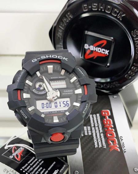 Relógio Masculino G Shock Preto Ga 700 1adr Frete Grátis