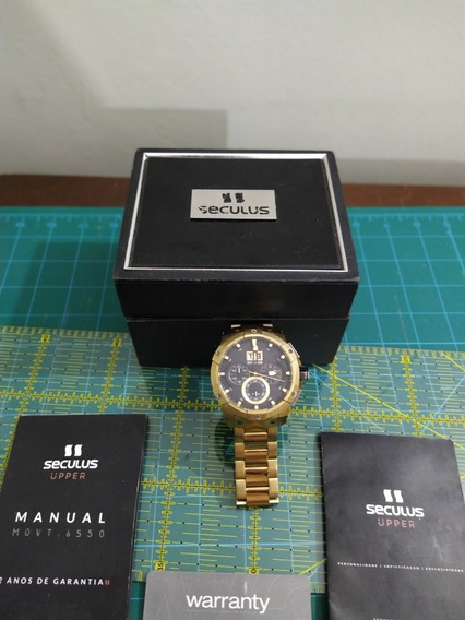 Relógio Seculus Upper 13008gpsvda1