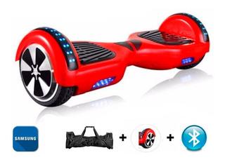 Hoverboard Skate Elétrico Roda 6.5 Vermelho Samsung