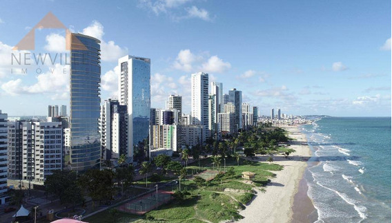 Apartamento Com 3 Quartos À Venda, 158 M² Por R$ 3.350.000 - Boa Viagem - Recife/pe - Ap2270