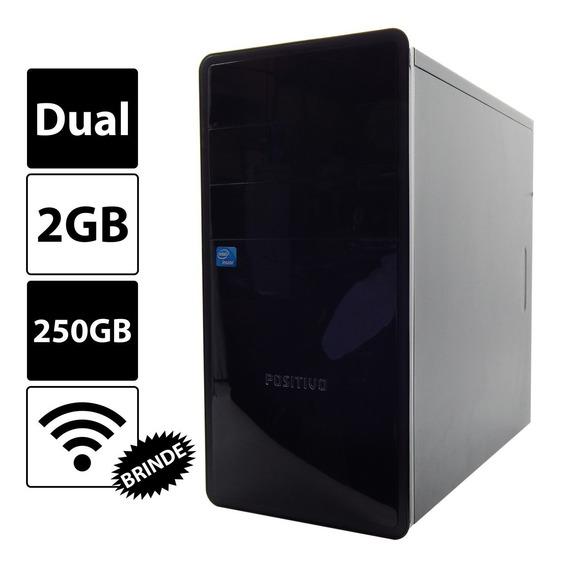Computadordual Core 2gb 250gb Gravadordvd Wi-fi Melhor