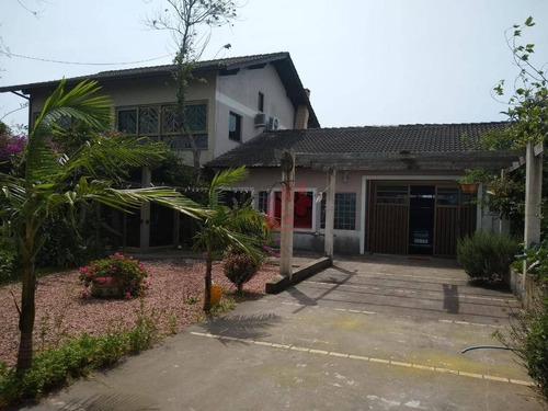 Casa Com 3 Suítes E 2 Vagas De Garagem Mais Um Chalé À Venda Na Praia De Tramandaí - Tramandaí/rs - Ca0413