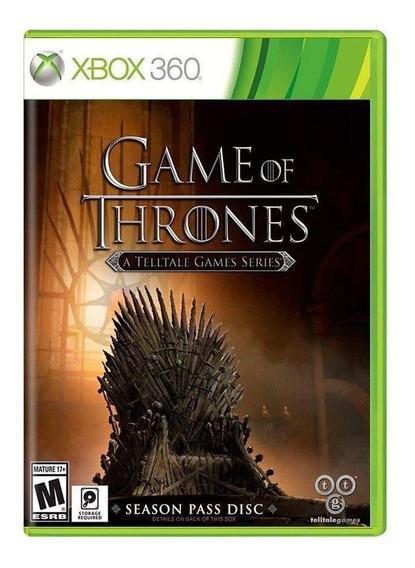 Jogo Game Of Thrones A Telltale Games Series Para Xbox 360