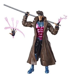 Marvel Legends X-men Caliban Series Gambit Robot Negro