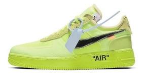 Nike Air Force 1 Off-white Low Volt Lançameto