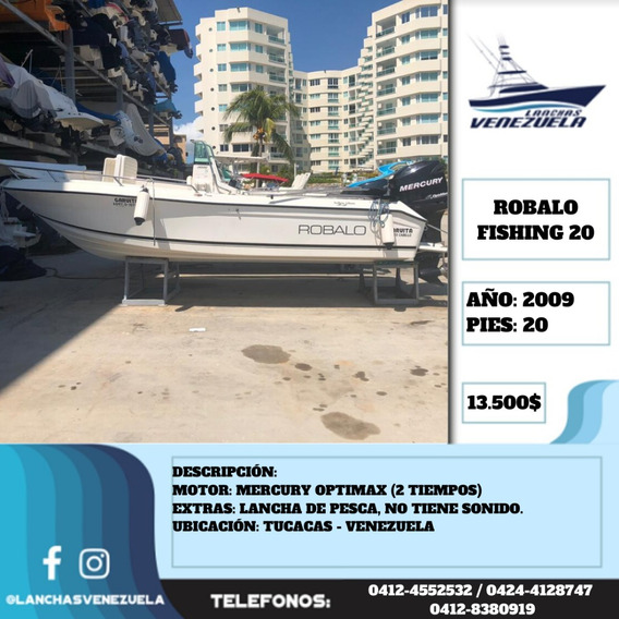 Lancha Robalo Fishing 20 Lv536