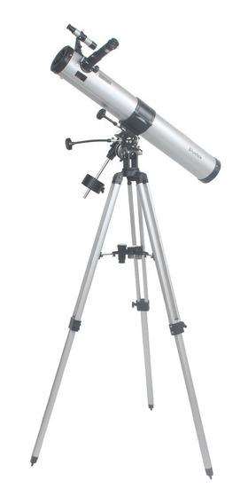 Telescópio Astronomico Equatorial 900x76mm Bluetek Modelo Bm90076