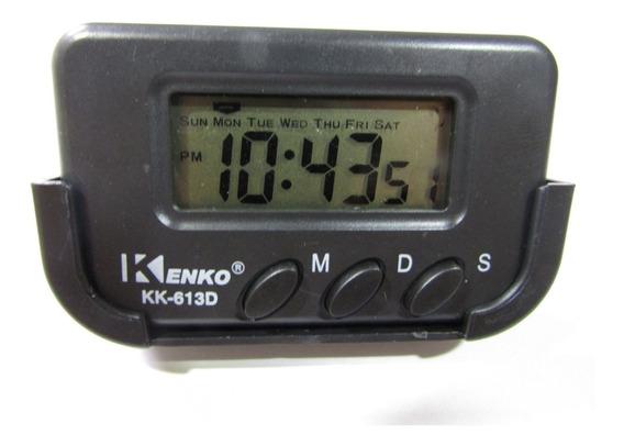 Relógio Car Clock Digital 10 Unidades Atacado Para Carros