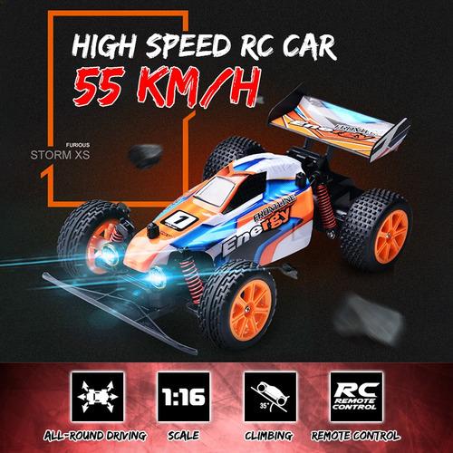 55 Km/h 1:16 Coche De Control Remoto De Alta Velocidad Rc Ca