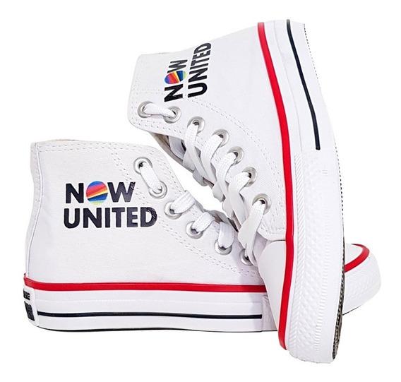 Tênis Now United Special All Converse Botinha Feminino