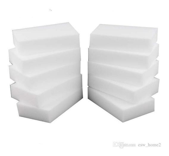 Pacote Com 20. Esponja Mágica Melamina 10 X 6 X 2