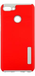 2in1 Case Huawei Mate 20 Lite - Rojo