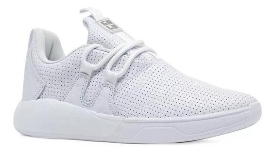 Tênis Hocks Skate Galáctica Gala Sneaker Branco White Couro