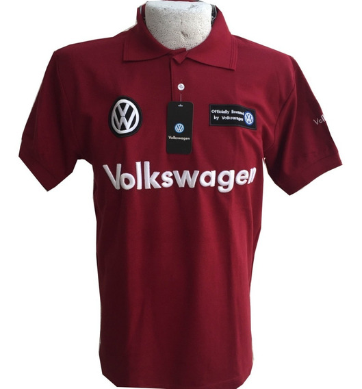 Playera Tipo Polo Volkswagen Vino