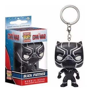 Llavero Funko Pop Black Panther / Pantera Negra