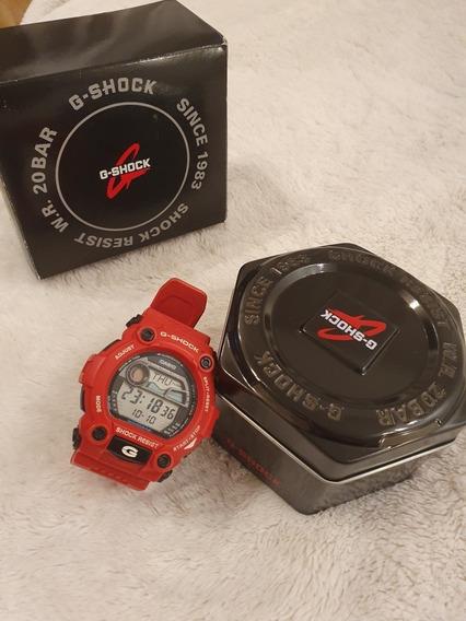 Relogio Casio G-shock G-7900a-4dr Vermelho