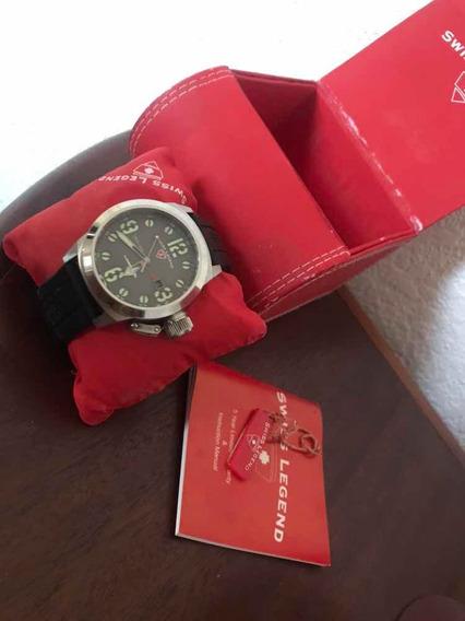 Relógio Suíço Swiss Army Seminovo Excelente Estado Sem Uso