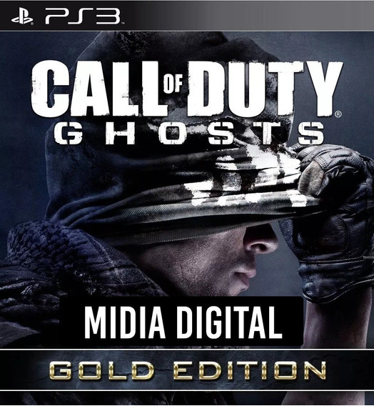 Call Of Duty Cod Ghosts Gold Edition + Onslaught - Ps3