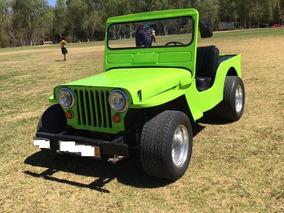 Jeep Willys 1958 Colección