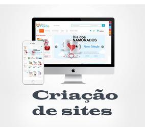 Criação De Site E Loja Virtual E-commerce. Hospedagem Grátis